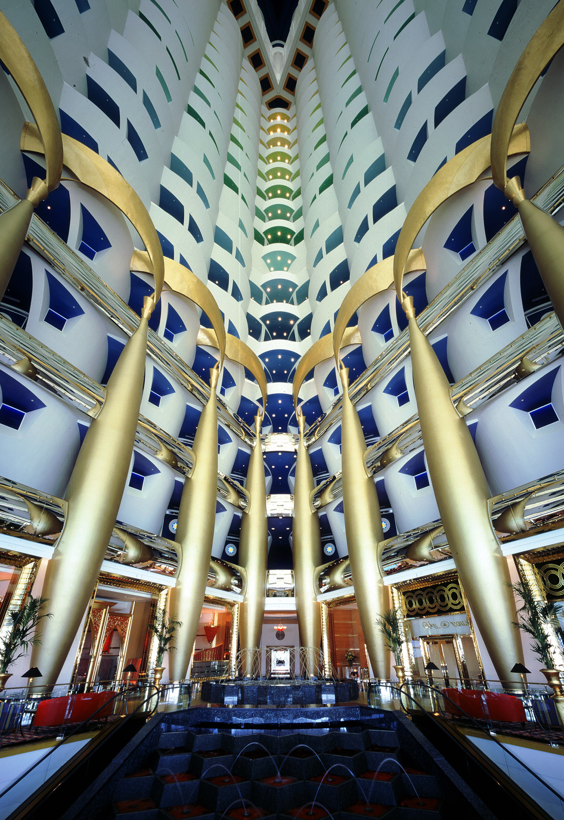 most beautiful building interiors in the world the ForBurj Al Arab Interior