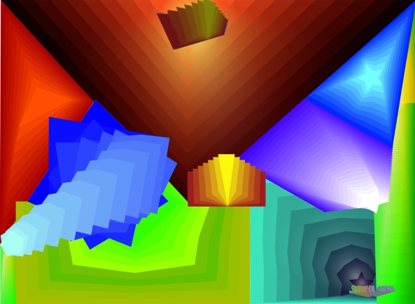 illustrator 's blending gradient